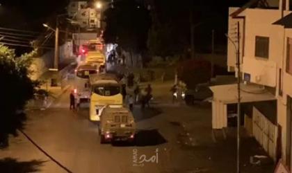 اصابة جنود من جيش الاحتلال اشتباكات مسلحة في نابلس- فيديو وصور