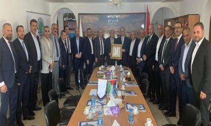 القدس: جمعية رجال الأعمال تستقبل رئيس مجلس إدارة صندوق الاستثمار الفلسطيني