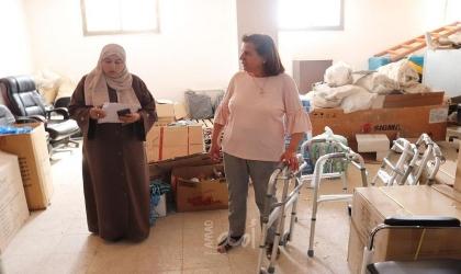 طوباس: التنمية تسلم أجهزة مساندة لعدد من الأشخاص ذوي الاعاقة