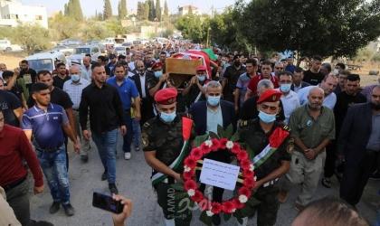 """قلقيلية: تشيع جثمان المناضل """" أبو حسن حجاوي"""""""