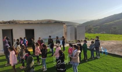 """قوات الاحتلال تبعد مدير مدرسة """"المالح"""" لمدة 10 أيام عن المدرسة"""