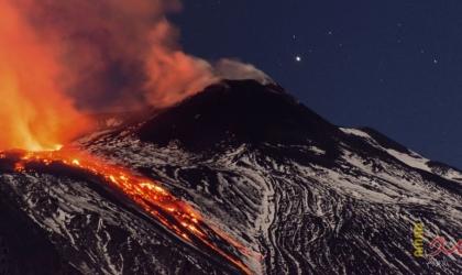 """""""لا بالما"""" الإسبانية تبدأ عملية الإخلاء بسبب ثوران بركانى"""