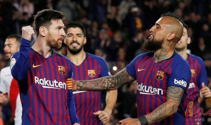 هدف مباراة برشلونة وليغانيس.. غريزمان يتقدم للبلوغرانا - فيديو