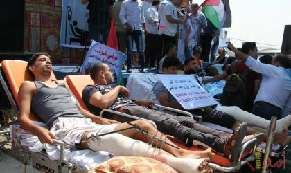 """""""الصحة العالمية"""" تطالب بإجلاء مرضى غزة لتلقي علاجهم خارج القطاع"""
