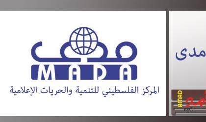 """""""مدى"""": رصد وتوثيق (20) انتهاكاً ضد الحريات الاعلامية خلال شهر """"مارس"""""""