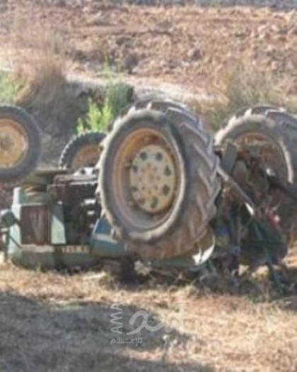 جيش الاحتلال يستولي على جرار زراعي في الأغوار الشمالية