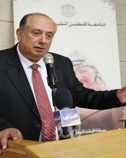 أبو مويس يؤكد أهمية تطبيق الأنظمة التي تضمن الاعتراف الدولي ببرامج الجامعات الفلسطينية