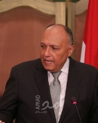 وزير الخارجية المصري يلتقي نظراءه الأردني والفلسطيني بالقاهرة يوم السبت