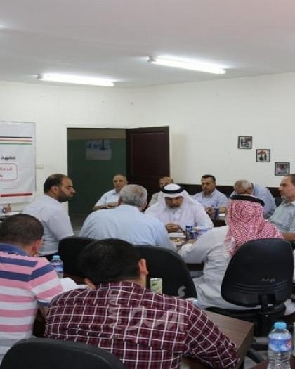 بالصور- مجتمعون فلسطينيون تطالب بصياغة خطة وطنية موحدة للتصدي للتطبيع مع إسرائيل