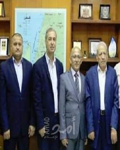 بالأسماء - أعضاء مجلس بلدية غزة المعين من حماس يتسلم مهامه