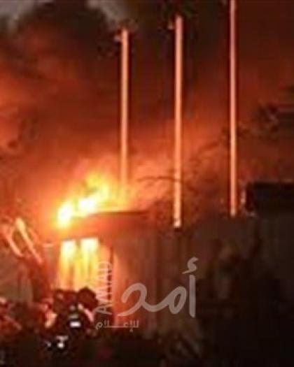 للمرة الثانية..متظاهرون عراقيون يحرقون القنصلية الإيرانية في النجف - فيديو