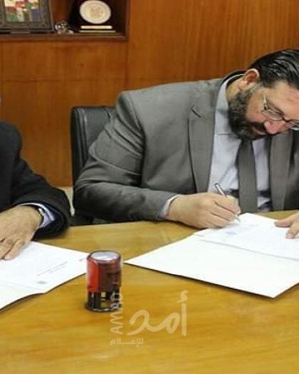 نقابة المحامين وبلدية غزة يوقعان مذكرة تفاهم لحل كافة الخلافات العالقة بينهما