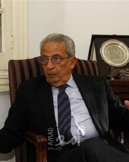 """نقل عمرو موسى إلى المستشفى بعد إصابته بـ """"كورونا"""""""