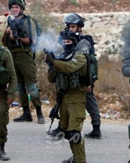 عشرات حالات الاختناق خلال مواجهات مع الاحتلال في كفر قدوم