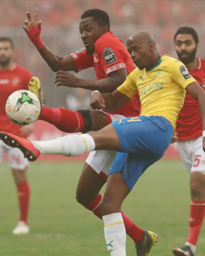 الأهلي المصري  إلى نصف النهائي عقب التعادل مع صن داونز