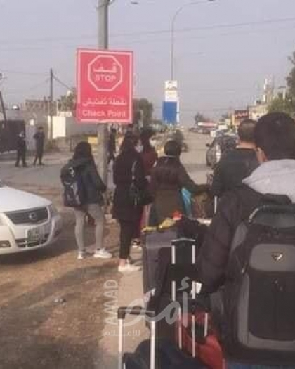 """مناشدة للحكومتين الأردنية والفلسطينية بإنهاء معاناة عالقين على """"جسر الملك حسين"""" للعودة الى الضفة الغربية"""