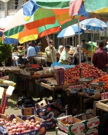 أسعار الخضراوات والفواكه والدجاج واللحوم في غزة