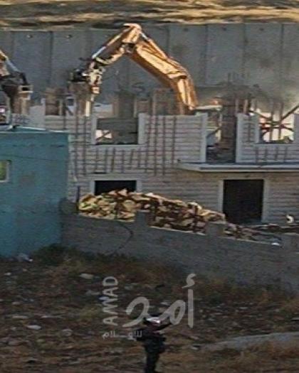 حماية يدين سياسة هدم المنازل التي تتبعها سلطات الاحتلال