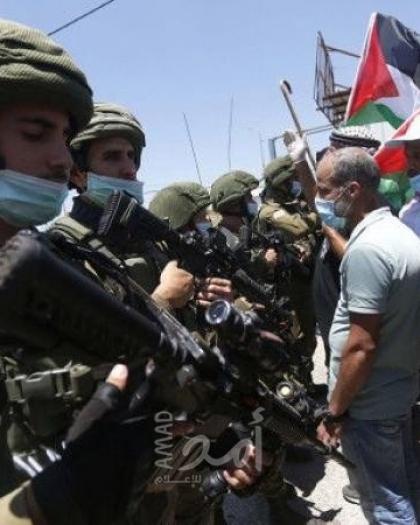 بالأسماء.. إصابة العشرات من المواطنين بعد مهاجمة جيش الاحتلال لمسيرات في الضفة