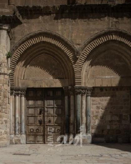 """القدس: إغلاق كنيسة القيامة كـ""""إجراء وقائي"""""""