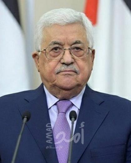 عباس يهنئ نظيره الجزائري على تماثله للشفاء وبالذكرى السنوية الأولى لتوليه مهامه