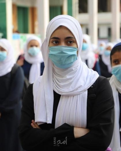 """غزة: نقابة المعلمين تطالب بإعادة النظر في استمرار الدوام الوجاهي للمدارس نظراً لتفشي """"كورونا"""""""