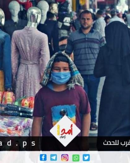 """صحة حماس: 41% من سكان قطاع غزة أصيبوا بفيروس """"كورونا"""""""