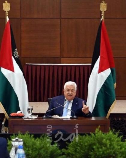 """""""الرئيس عباس"""" يهنئ رئيس ناميبيا بعيد الاستقلال"""