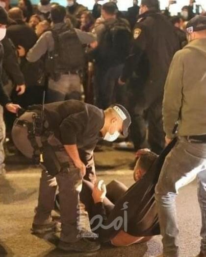 إغلاق شوارع في الناصرة احتجاجا على الجريمة وتواطؤ الشرطة الإسرائيلية