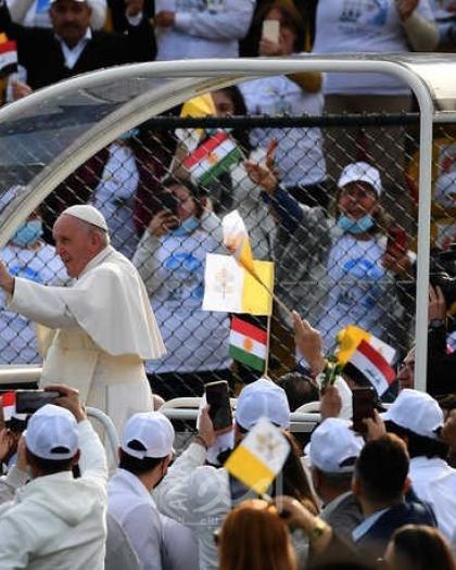 """""""كلنا إخوة"""".. رسائل ومحطات البابا فرنسيس خلال زيارته التاريخية للعراق"""