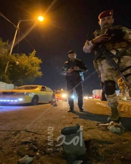 العراق: قصف صاروخي يستهدف قاعدة عسكرية شمال بغداد