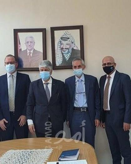 مجدلاني يلتقي المدير الإقليمي لليونيسف في الشرق الأوسط وشمال إفريقيا