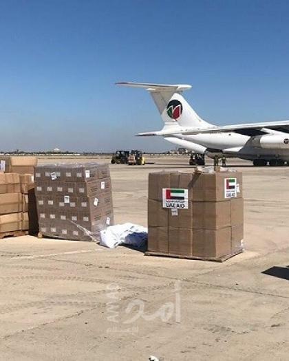 وصول طائرة إماراتية تحمل مساعدات إلى سوريا
