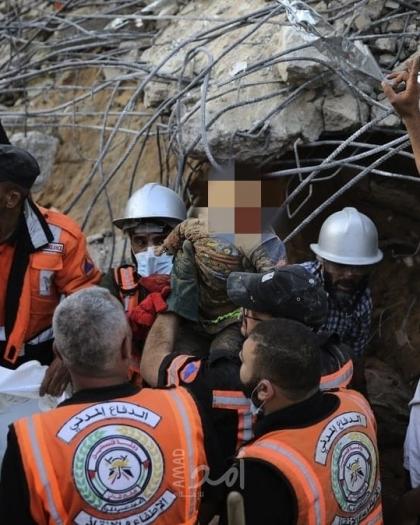 الدفاع المدني: 139 شهيد بينهم 39 طفل و22 سيدة