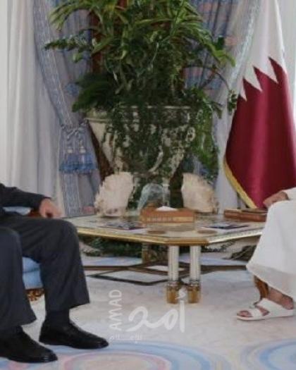 تفاصيل لقاء هنية بأمير قطر تميم بن حمد آل ثاني