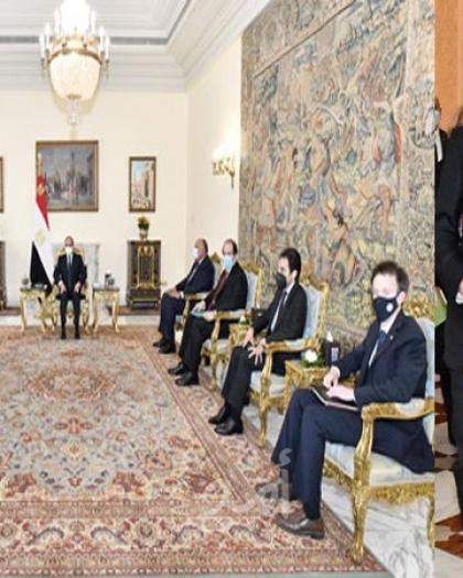 """السيسي يؤكد لـ """"بلينكن""""أهمية استئناف المفاوضات بين الفلسطينيين والإسرائيليين"""