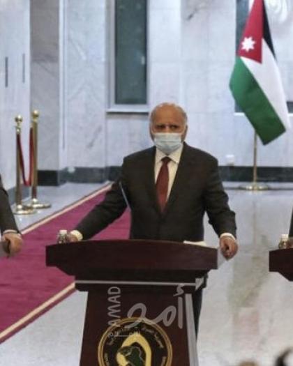 """وزراء خارجية """"العراق – الأردن – مصر"""": القمة الثلاثية لتعزيز التكامل الاقتصادي ومواجهة التحديات العديدة"""