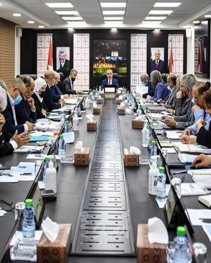 مجلس الوزراء الفلسطيني يقرر عقد جلساته الأسبوعية في جميع محافظات الوطن
