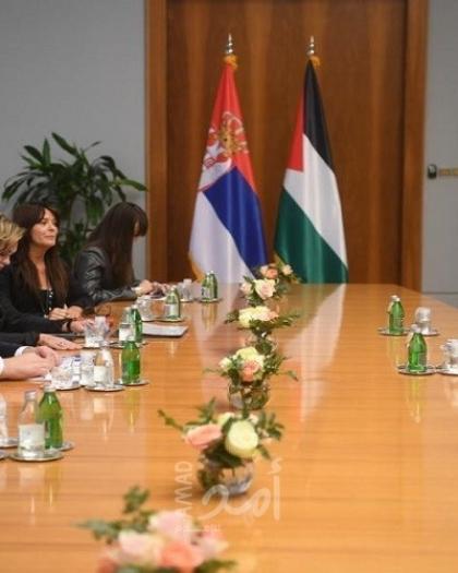 خلال لقائه بالوزير المالكي... الرئيس الصربي يؤكد أن بلاده لن تنقل سفارتها للقدس