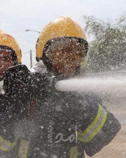 طواقم الدفاع المدني تتعامل مع (30) حادث ومهمة في الضفة والقدس