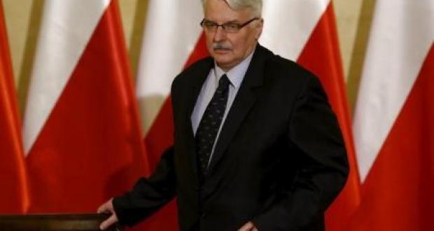 وزير الخارجية البولندي فيتولد فاشيكوفيسكي