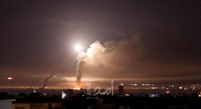 محدث - سانا: الدفاعات الجوية تصدت لهجوم إسرائيلي في محيط دمشق - فيديو