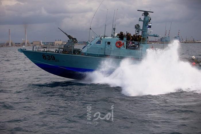 بحرية الاحتلال تطلق النار تجاه مراكب الصيادين مقابل بحر غزة