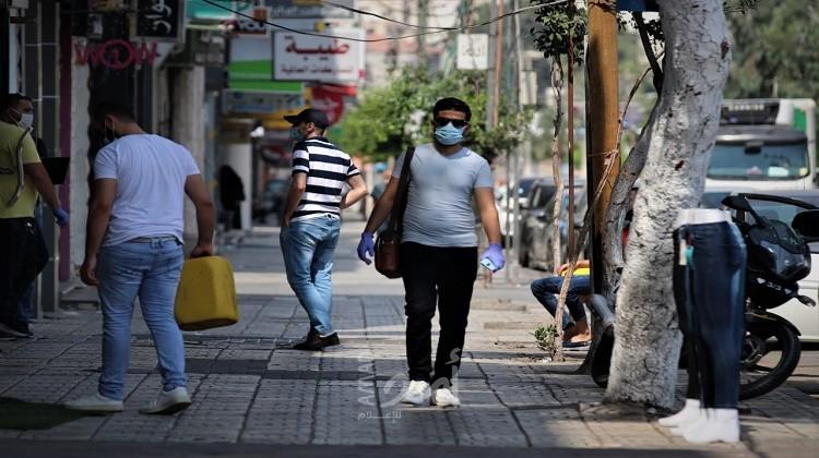 """غزة: تسجيل حالتي وفاة و617 إصابة جديدة بفيروس """"كورونا"""""""