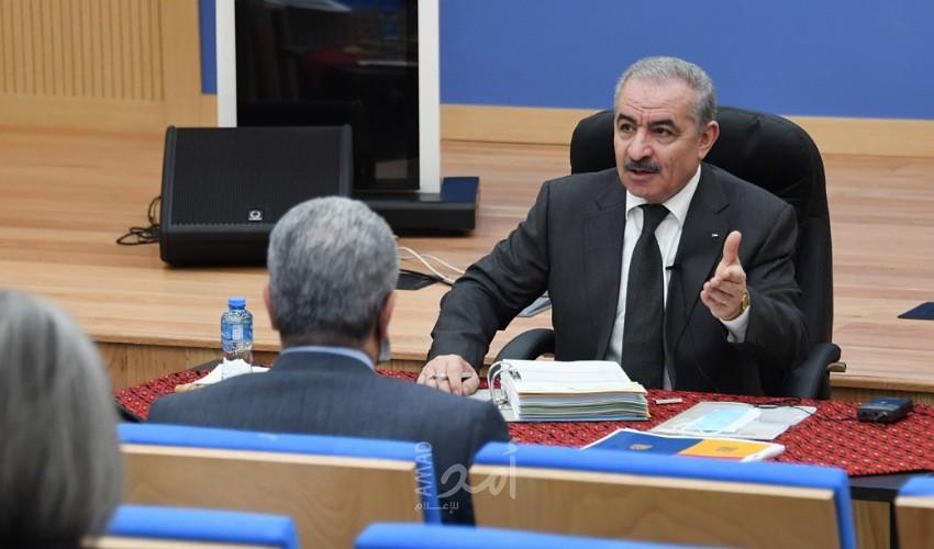 مجلس الوزراء: سنعمل على إعادة إنعاش الاقتصاد الوطني لتخفيض حدة أرقام البطالة خاصة في قطاع غزة