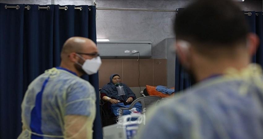 """الصحة الفلسطينية: تسجيل 16 حالة وفاة 1870 إصابة جديدة بفيروس """"كورونا"""""""