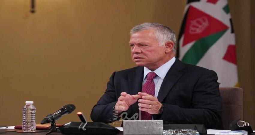الملك عبد الله: لا استقرار دون التوصل للسلام العادل بين الفلسطينيين والإسرائيليين